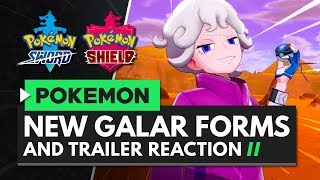 POKEMON SWORD & SHIELD | Reacting to the New Trailer - Galar Forms, New Rivals & Pokemon