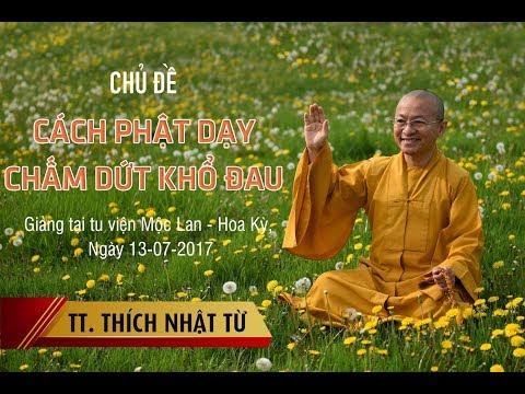 Cách Phật dạy chấm dứt khổ đau - TT. Thích Nhật Từ