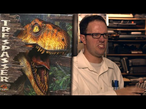 Jurassic Park: Trespasser (PC) - Angry Video Game Nerd (AVGN)