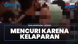 Ketahuan Copet Uang Rp100 Ribu, Wanita di Banjarnegara Mengaku karena Kelaparan