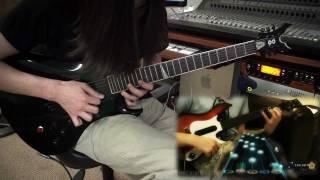 Sudden Death Guitar Hero Vs. Real Guitar