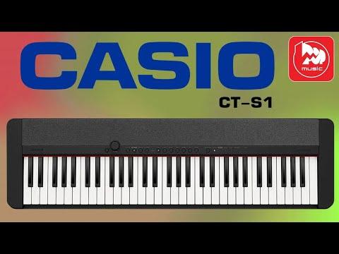 Лёгкое цифровое пианино Casio CT-S1 с функцией звук вокруг