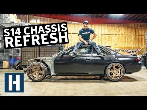 Overhauling Dan's Thrashed S14 Chassis - ViralStat