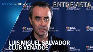 Luis Miguel Salvador | Club Venados | Entrevista