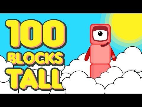 One Hundred Blocks Tall - Numberblocks Fanmade Animation