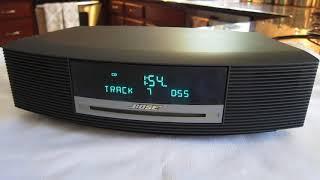 Bose Wave Music System CD Radio AM/FM Alarm Clock Graphite Gray AWRCC1