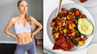 WHAT I EAT IN A DAY + RECIPE (Simple, Healthy & Vegan)