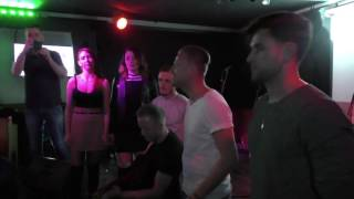Nicky Byrne Sings Acoustic Version of Sunlight at Irish Party
