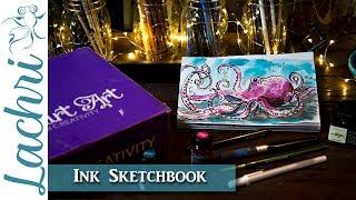 Ink Art Sketchbook - Lachri