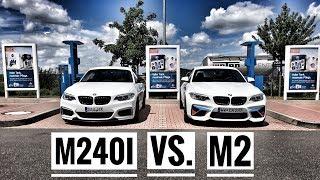 BMW M240i (JB4) vs. BMW M2 / 80-250 km/h / German Autobahn / Acceleration Sounds