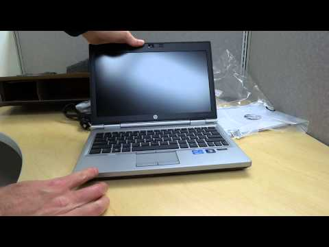 HP EliteBook 2570p Unboxing and First Thoughts Video