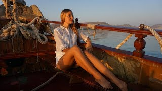 Крым. Морская экскурсия на вулкан Карадаг из Коктебеля