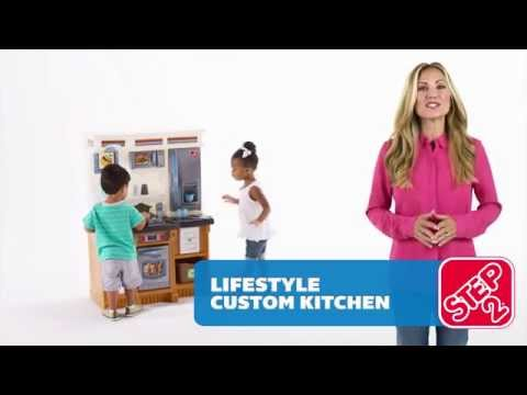Video STEP2 Kuchyňka LifeStyle Custom 2