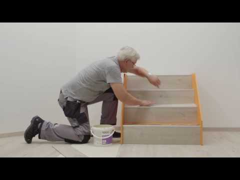 Pvc vloer lijmen op hout cool deze pvc vloeren van bv kun je