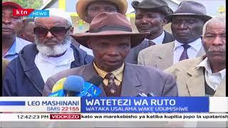 Wazee kutoka jamii zinazoishi katika kaunti ya Uasin Gishu wataka usalama wa DP Ruto udumishwe