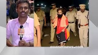 Sasikala and Bhargava Ram blocked by police entering sabarimala