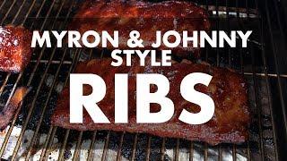 Myron Mixon & Johnny Trigg Style Ribs with Ray & Stevie | REC TEC Grills