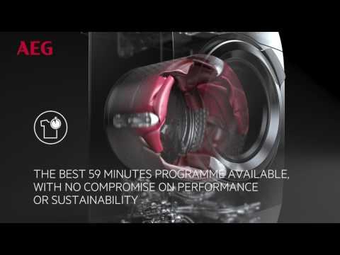AEG Freestanding Washing Machine L8FEE965R - White Video 4