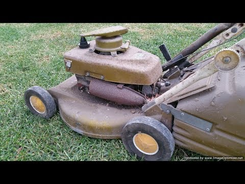 Quick Fix on a Couple of Other Vintage Victa Mowers