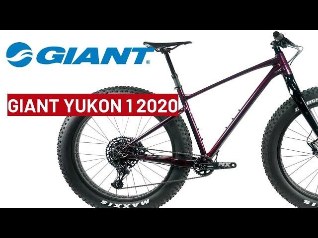 Видео Велосипед Giant Yukon 1 Metallic Wine Burgundy