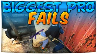 CS:GO - BIGGEST PRO FAILS ft. kennyS, olofmeister, GeT_RiGhT & More!