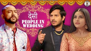 Desi People In Wedding || NazarBattu || Pawan Yadav