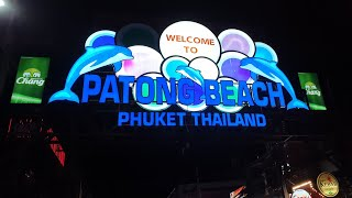 PATONG BEACH , JUNGCEYLON MALL And BANGLA ROAD - Travel Vlog 04 - Malaysia To Thailand By Bus