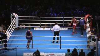Денис Беринчик   Владимир Матвейчук  Финал Чемпионата Украины по боксу Киев 2014 г