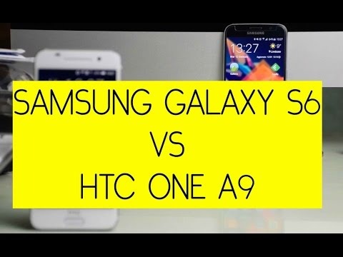 Foto Samsung Galaxy S6 vs HTC One A9