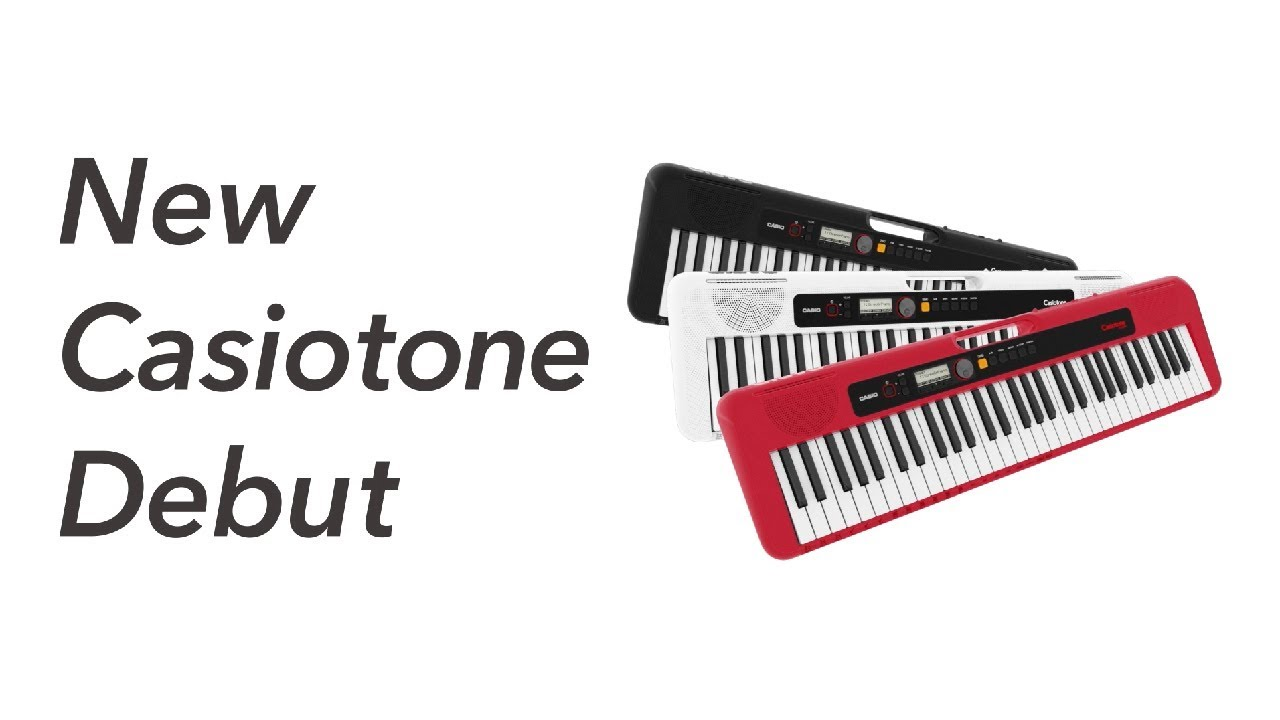 CASIO CT-S300BK Casiotone keyboard,svart