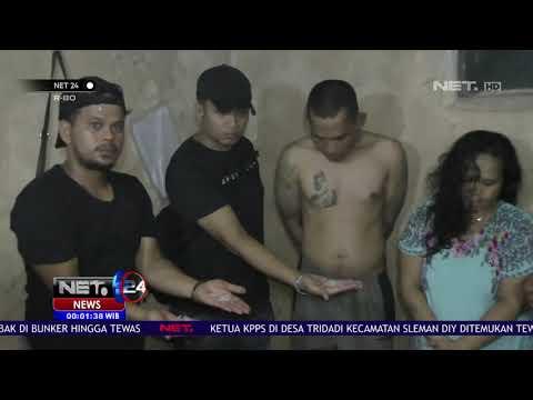 Polisi Bekuk Suami Istri Bandar Narkoba di Padang NET24