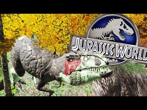 EL NUEVO DINOSAURIO HIBRIDO GIGANOTOSAURUS JURASSIC WORLD 2 ARK PARK