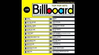 Billboard Top Pop Hits - 1986