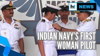 Sub-Lieutenant Shivangi becomes Indian Navy's first woman pilot