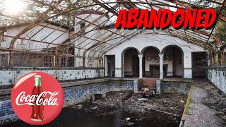 COCA COLA INVENTOR'S DREAM MANSION!  (Abandoned mansion of glass!)