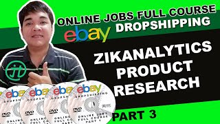 Online Jobs At Home Philippines Zikanalytics Product Research Tutorial Part 3