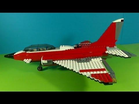 Vidéo LEGO Creator 5892 : L'avion supersonique