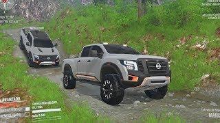 Nissan TITAN 4x4 Offroad | Transportando Tambos De Combustible En Montañas