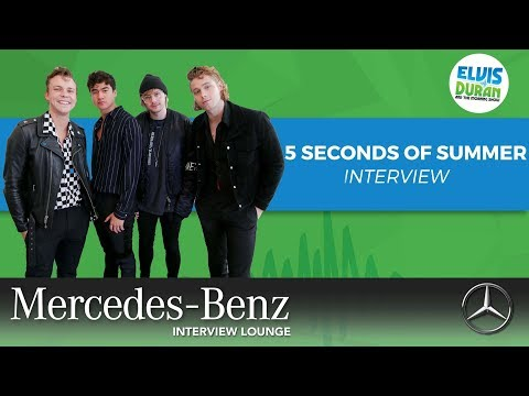 5 Seconds of Summer on 'Youngblood' | Elvis Duran Show