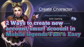 create new account in Mobile Legends - TH-Clip