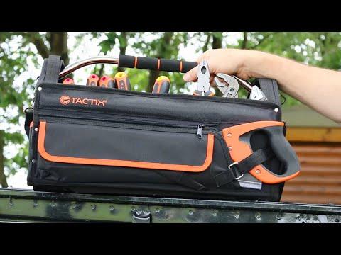 Tactix Werkzeugtasche 56-teilig
