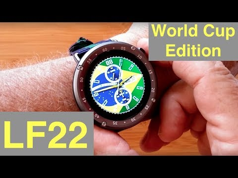 LEMFO LF22 World Cup Edition GPS IP67 Waterproof Sports/Fitness Smartwatch: Unboxing and 1st Look
