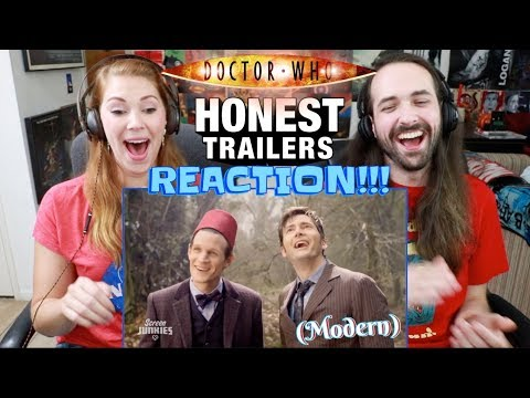 Honest Trailers - DOCTOR WHO (Modern) - REACTION!!!