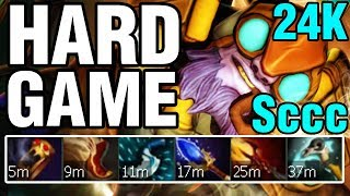 HARD GAME - Sccc Plays Tinker - Dota 2
