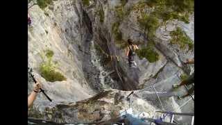 Canyon Swing Gletscherschlucht Grindelwald :: 85m :: 120km/h