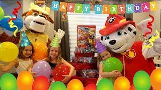 Marshalls Birthday Party