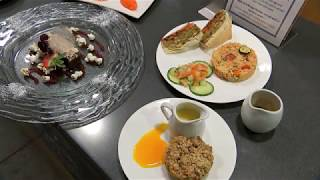 Chefs battle it out in school cooking contest