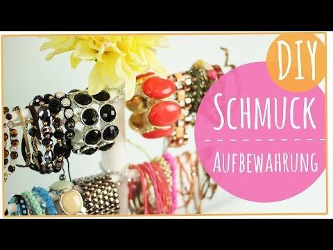 Schmuck Sammlung und Aufbewahrung l DIY