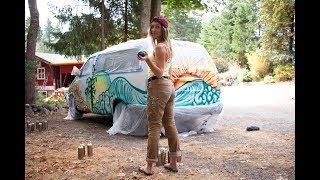 How I Painted My Van