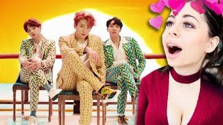 Reacting To BTS KPOP Music Videos (방탄소년단)